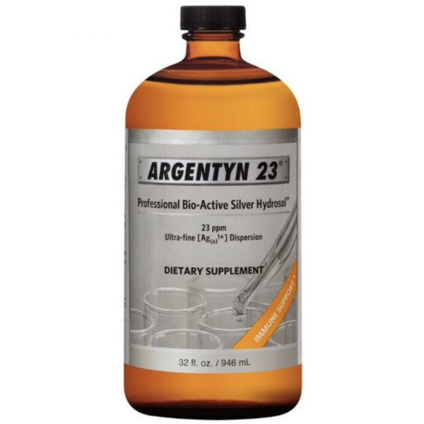 Argentyn 23 32 oz label