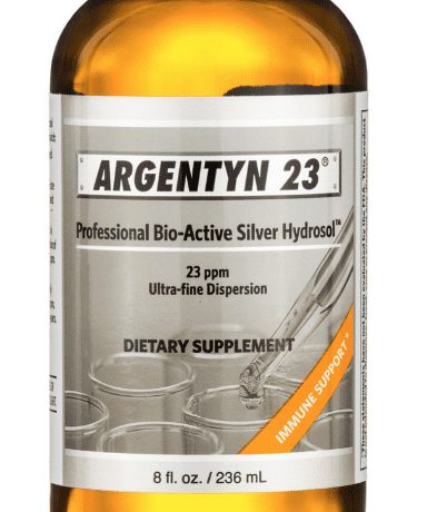 Argentyn 23 8 oz label