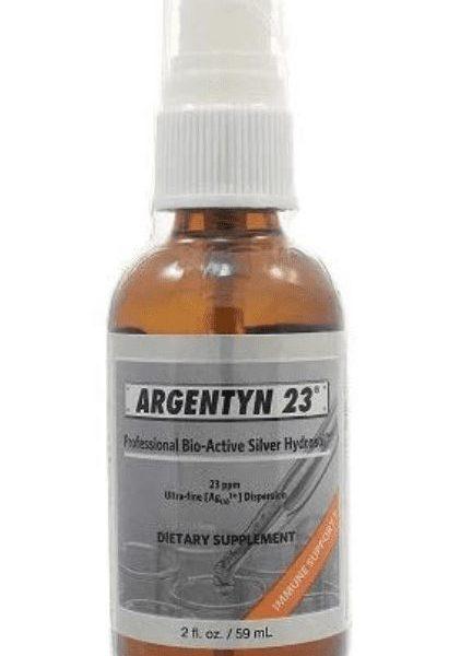 Argentyn fine mist label