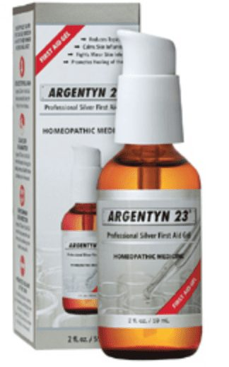 Argentyn 23 gel label