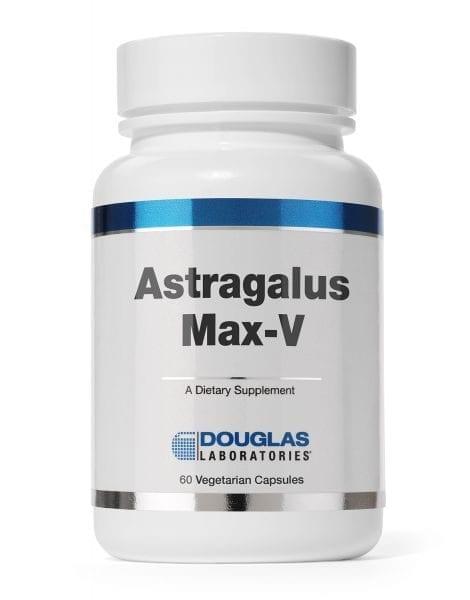 Astragalus Max-V label