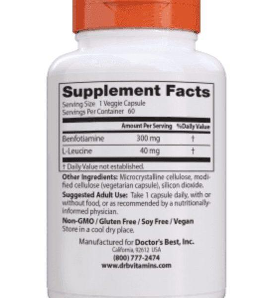 Benfotiamine ingredients