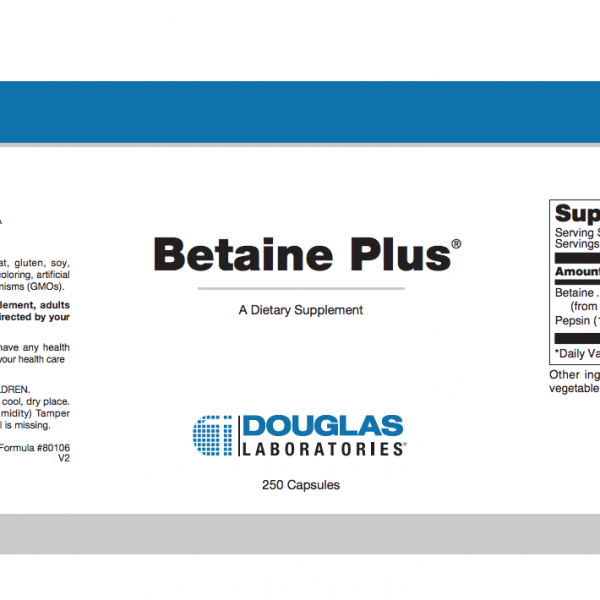 Betaine Plus ingredients
