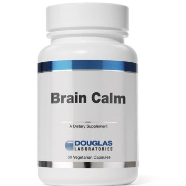 Brain Calm label