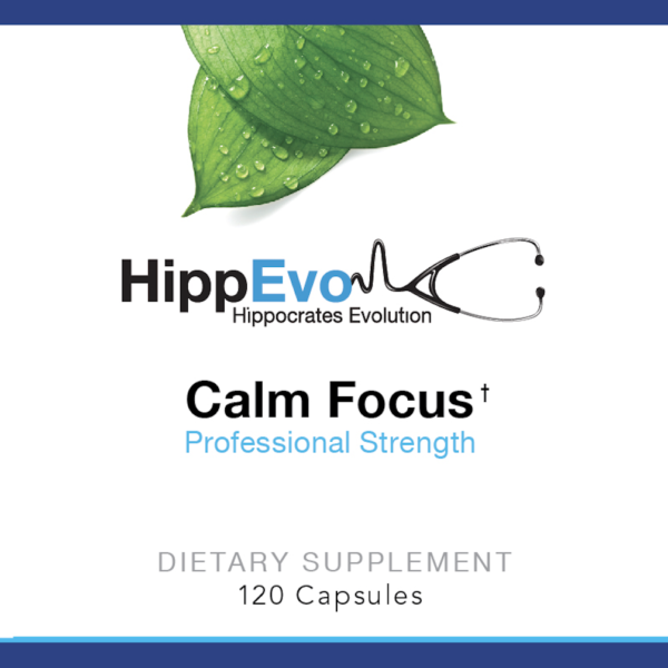 Calm Focus label