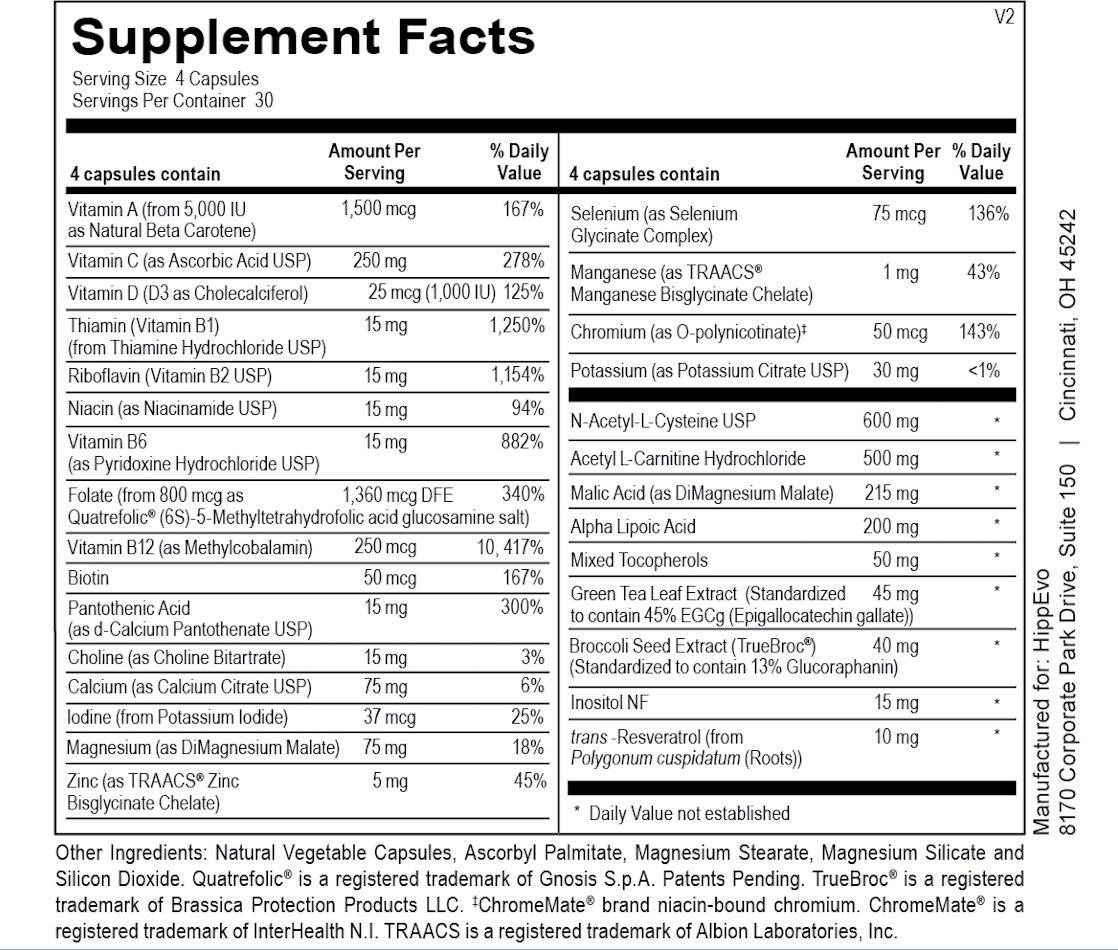 Cellular Multi ingredients