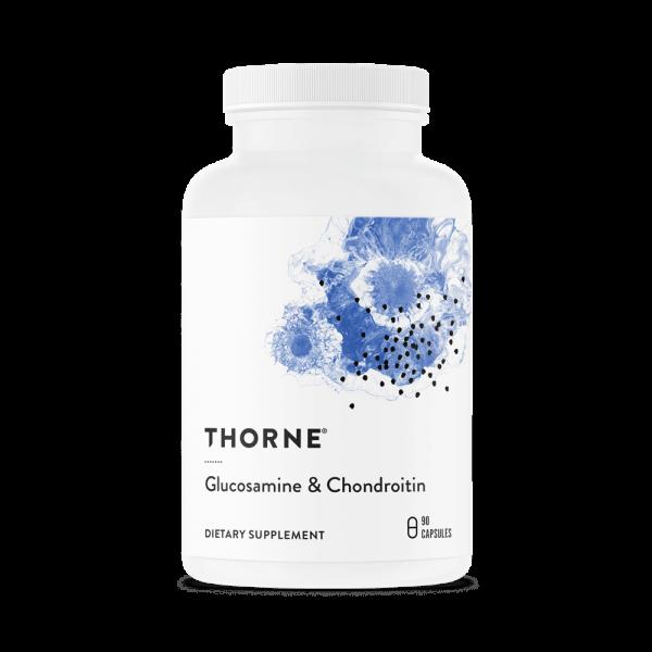 Glucosamine & Chondroitin label