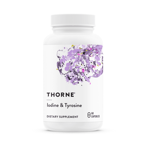 Iodine & Tyrosine label