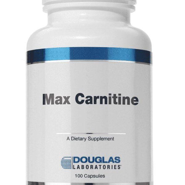 Max Carnitine label