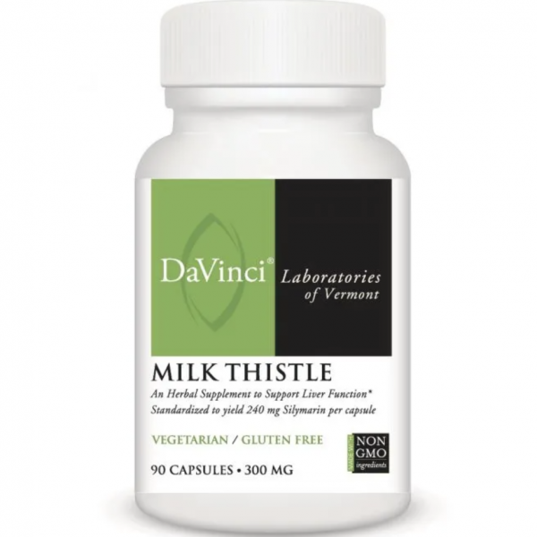 Milk Thistle label