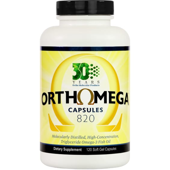 Orthomega 120 label