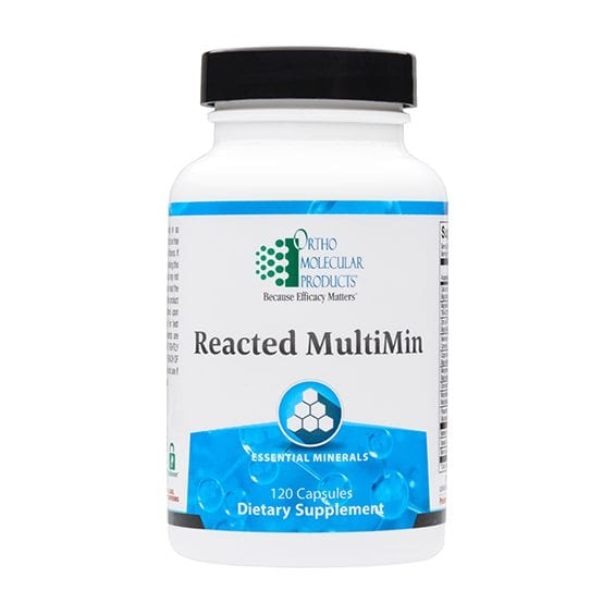 Reacted MultiMin label