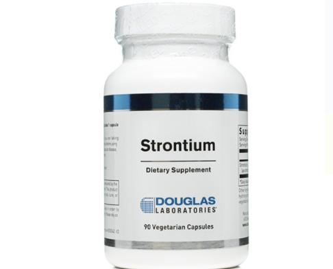 Strontium label