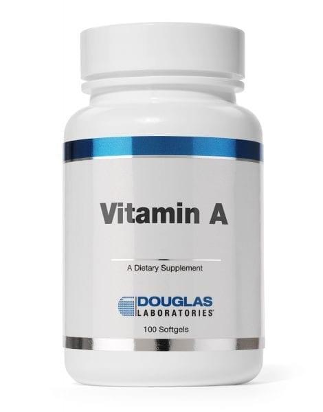 Vitamin A label