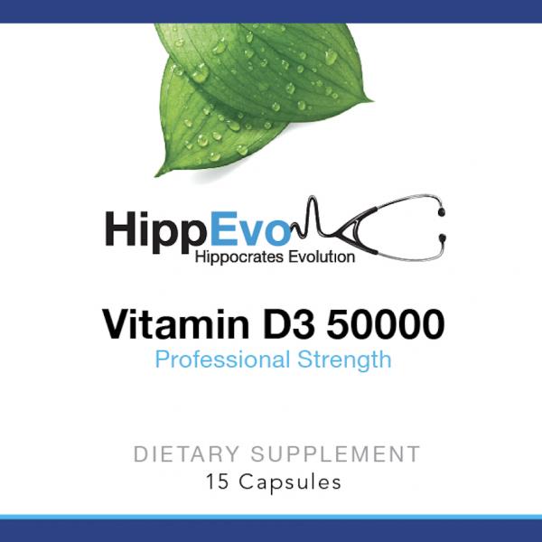 Vitamin D3 50,000 label