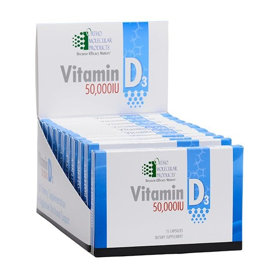 Vitamin D3 50,000 label