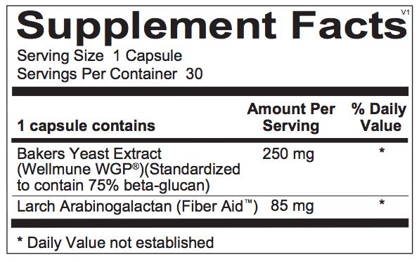 WholeMune ingredients