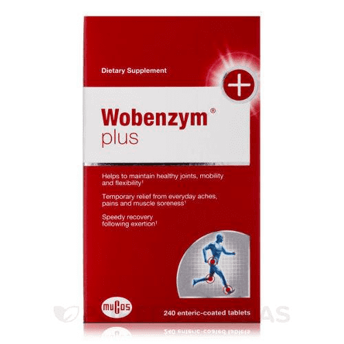 Wobenzyme Plus label