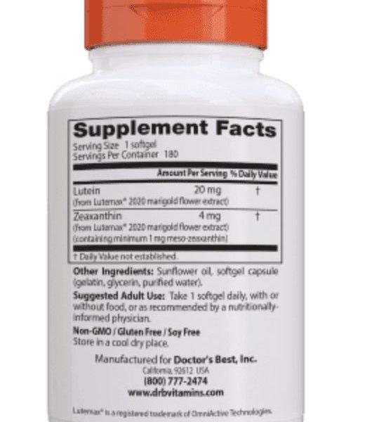 Lutein ingredients