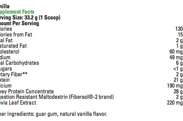 right whey van ingredients