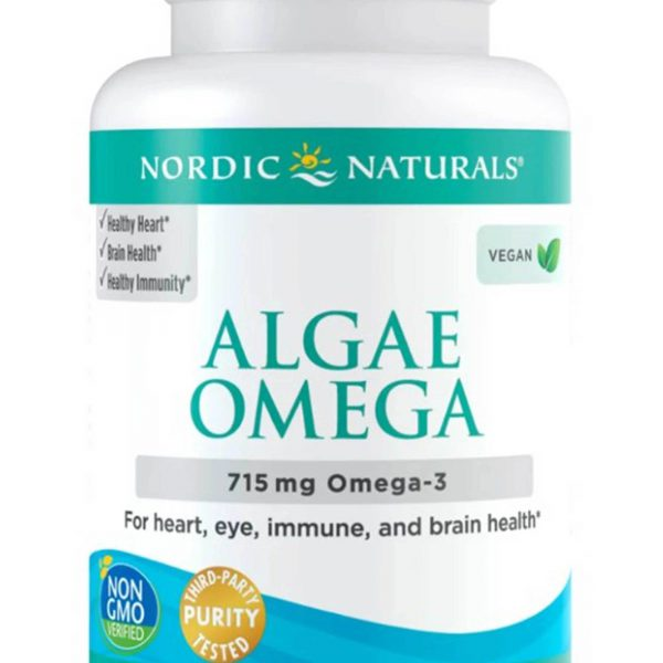Algae Omega label