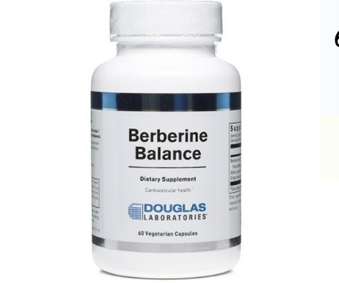 Berberine Balance label