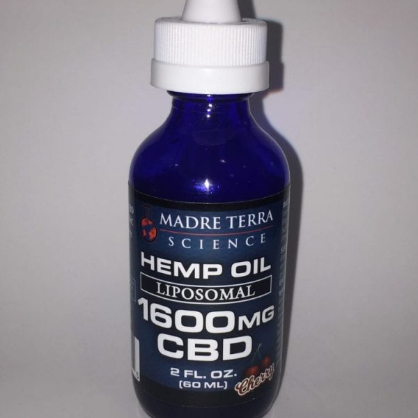 CBD 1600 label