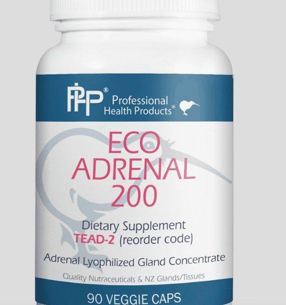 Eco Adrenal 200 label