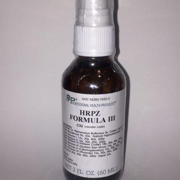HRPZ formula label