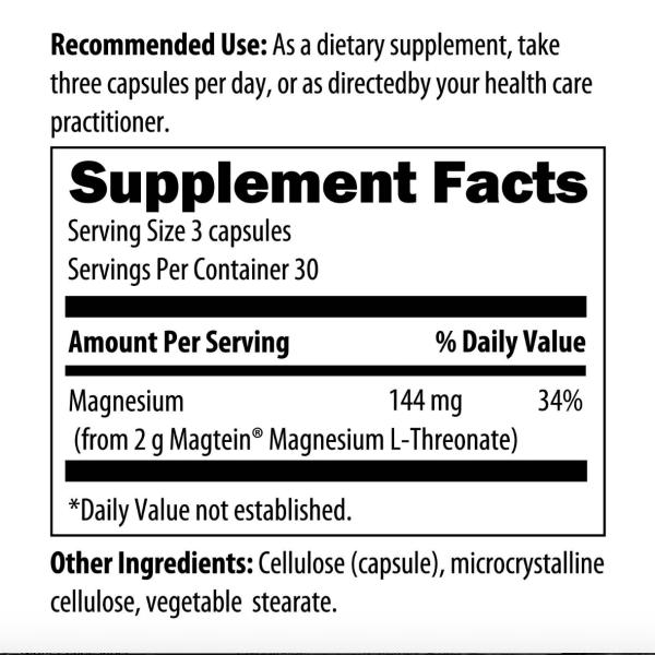NeuroMag ingredients
