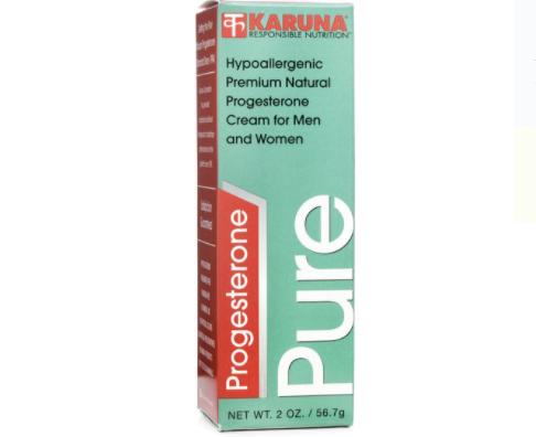 Progesterone Pure label
