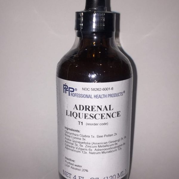 adrenal liquescence label