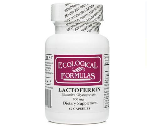 Lactoferrin label