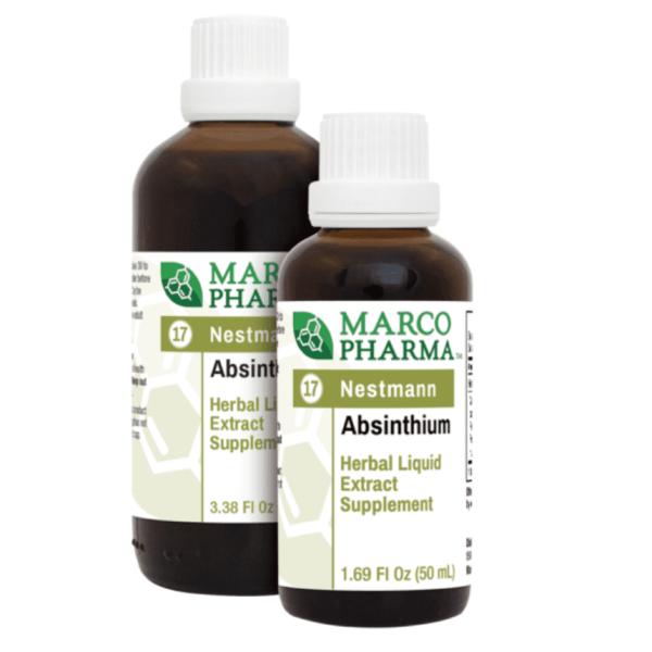 Absinthium label