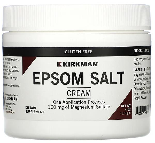 Epsom Salt label