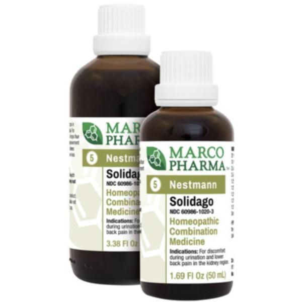 Solidago label