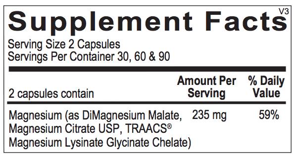 Reacted Magnesium ingredients