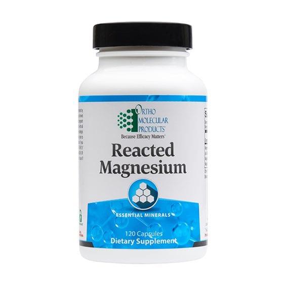 Reacted Magnesium label