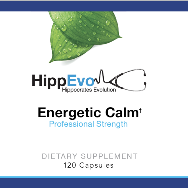 Energetic Calm label
