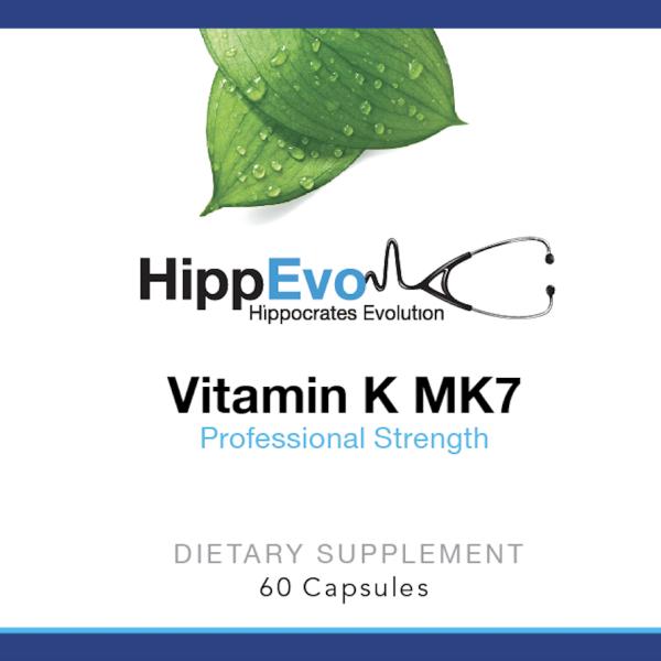 Vitamin K MK7 label