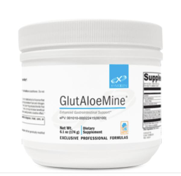 GlutAloeMine label