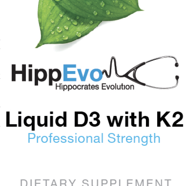 Liquid D3 with K2 label