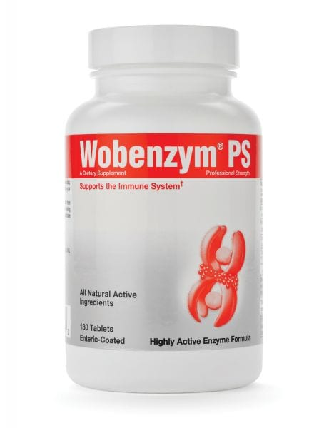 Wobenzym PS label