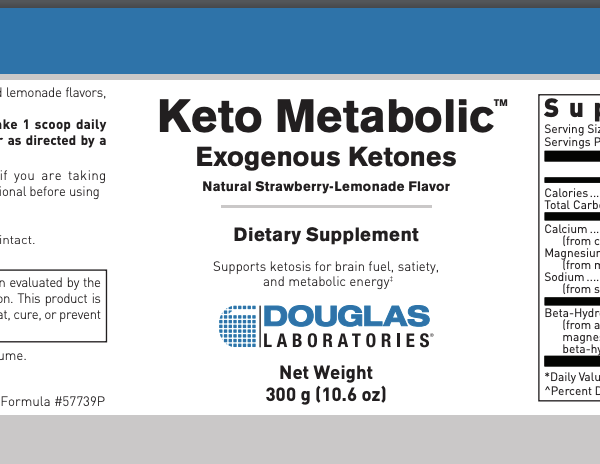 Keto Metabolic ingredients