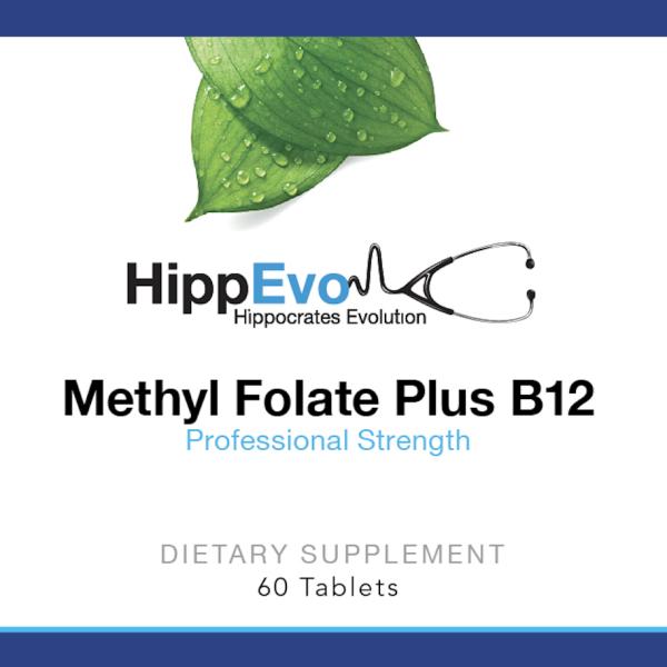 Methyl Folate B12 label