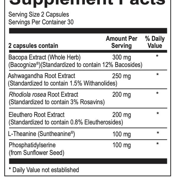 NuAdapt ingredients