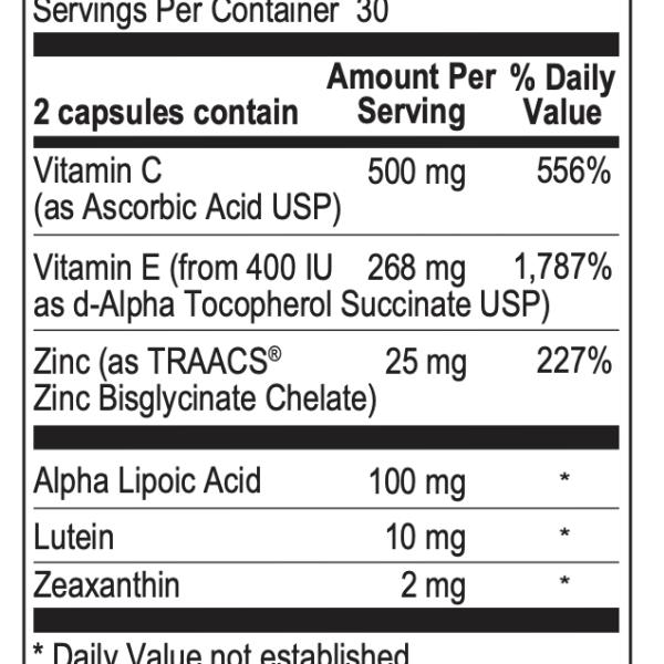 OcuView ingredients