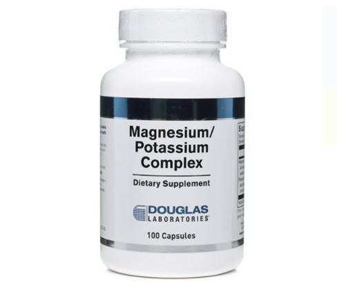 Magnesium Potassium label