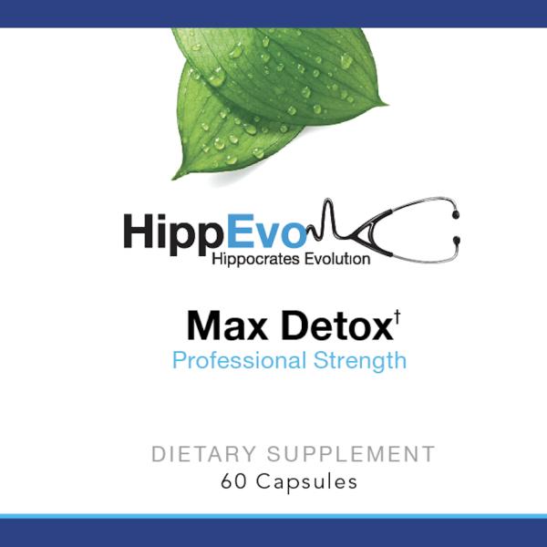 Max Detox label