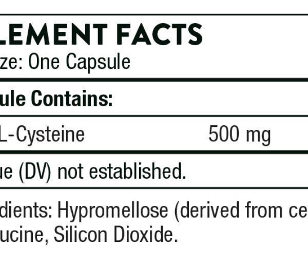 NAC ingredients